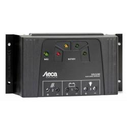 Steca Solsum 2525 12/24Vdc | 25A | Automático | LEDS | Salida USB 5V 1.5A Cargador Móvil/Tablets