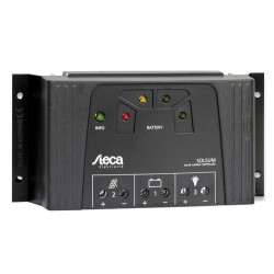 Steca Solsum 4040 12/24Vdc | 40A | Automático | LEDS | Salida USB 5V 1.5A Cargador Móvil/Tablets