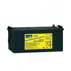 Batería de GEL Sonnenschein 12V y 230Ah C100
