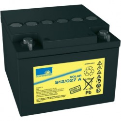 Batería de GEL Sonnenschein 12V y 27Ah C100