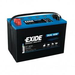 Batería AGM EP900 de 12V y 100 Ah C20