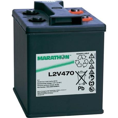 Batería AGM L2V520 de 2V y 618 Ah C100