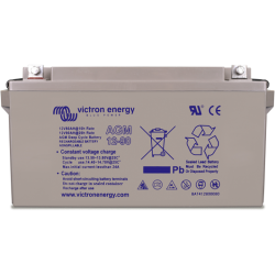 Batería AGM Victron de 12V y 165Ah C20