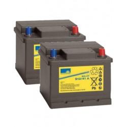 Batería de GEL Sonnenschein 12V y 41Ah C100