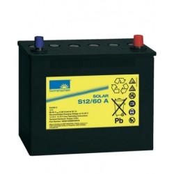 Batería de GEL Sonnenschein 12V y 60Ah C100