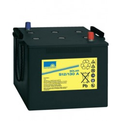 Batería de GEL Sonnenschein 12V y 130Ah C100