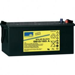 Batería de GEL Sonnenschein 12V y 185Ah C100