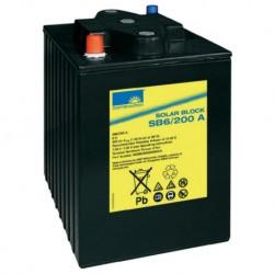 Batería de GEL Sonnenschein 6V y 200Ah C100