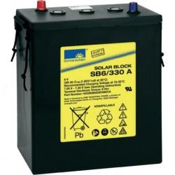 Batería de GEL Sonnenschein 6V y 330Ah C100