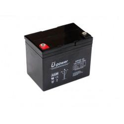 Batería AGM de 12V y 33Ah C20
