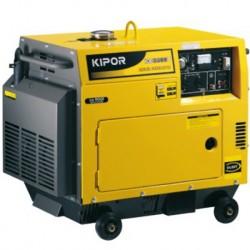 Generador Diesel Monofásico Silencioso 3,2kVA
