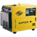 Generador Diesel | Potencia máx. 5kVA | A. eléctrico | Adaptado para solar | Agua | Peso 168 kg