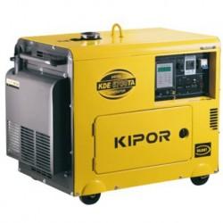 Generador Diesel Monofásico Silencioso 5kVA