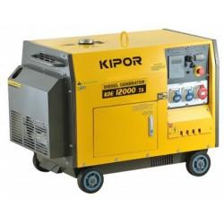 Generador Diesel Monofásico Silencioso 9,5kVA