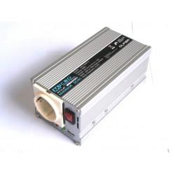 Inversor Onda Modificada 300W 24Vdc-230Vac  | 700W Potencia Pico
