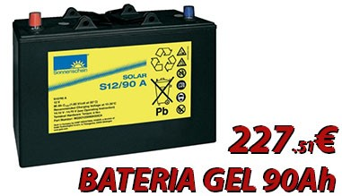 Bateria Gel Sonnenschein 12V y 90Ah